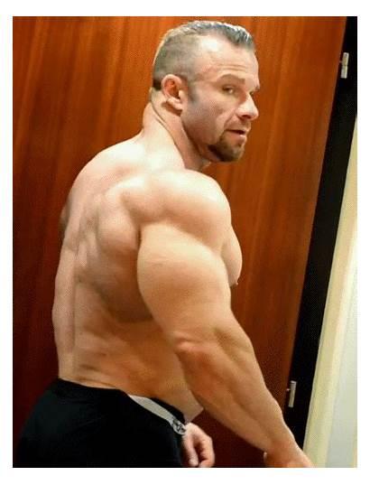 Male Pecs Muscular Dilf Rockel Muscle Fitness