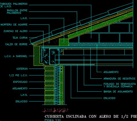 detail flat roof dwg detail  autocad designs cad