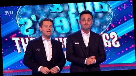 Ant and Dec horrified as audience laugh as they speak ...