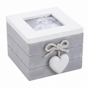 Coffre à Bijoux Bois : coffret boite bijoux en bois avec porte photo achat ~ Premium-room.com Idées de Décoration