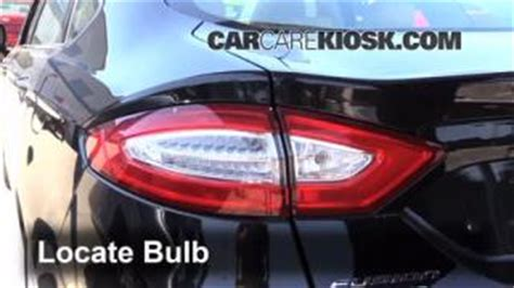 2012 ford fusion tail light how to add refrigerant to a 2010 2012 ford fusion 2010