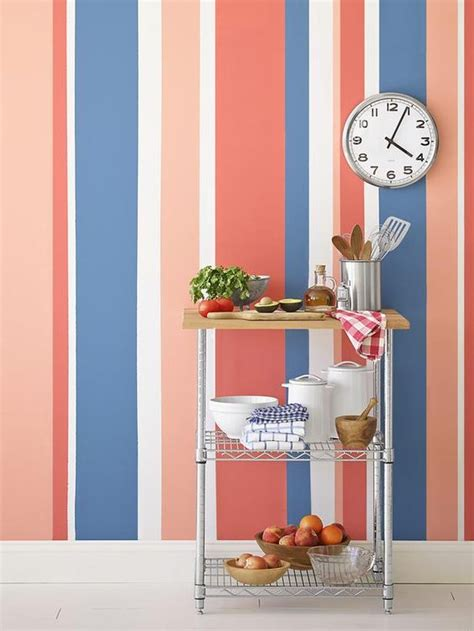 Streifen Auf Wand Malen by Painting Multicolored Stripes On A Wall Gardens Hgtv