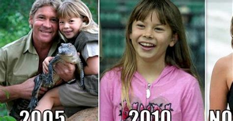 Steve Irwin's Daughter Is All Grown Up And She Was Named