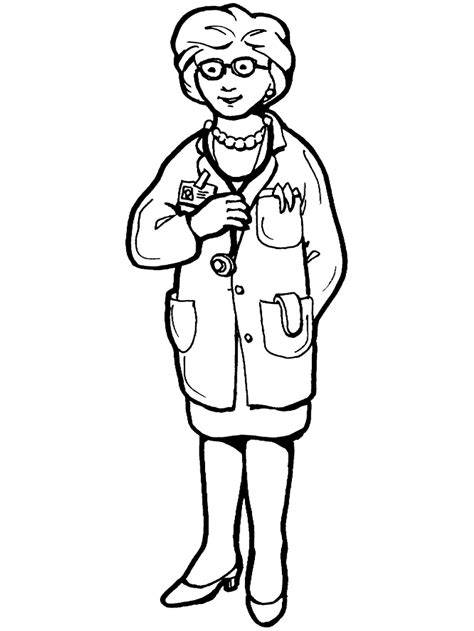 labor day coloring page doctor primarygames play   games