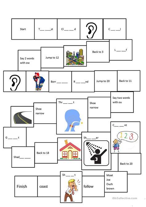 Phonics Oa Ou Ow Oe Worksheet  Free Esl Printable Worksheets Made By Teachers