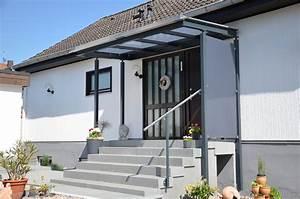 Vorbau Für Hauseingang : vordach ber eingang lackierte stahlkonstruktion mit glasauflage medam gmbh ~ Sanjose-hotels-ca.com Haus und Dekorationen