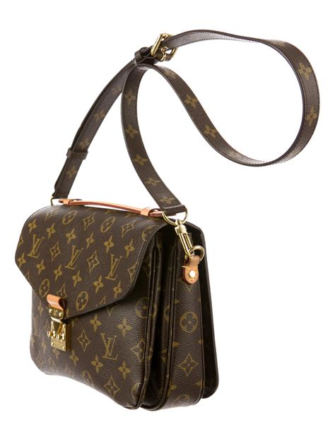louis vuitton monogram pochette metis handbags