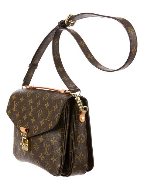 louis vuitton monogram pochette metis handbags