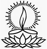 Diwali Diya Clip Mydocumentstore Larger Credit sketch template