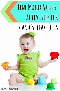 Fine Motor Skills Activities For 2 And 3