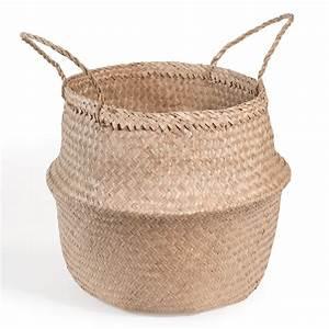 Panier Thailandais Pas Cher : d co facile et pas ch re une plante dans un panier d conome ~ Melissatoandfro.com Idées de Décoration