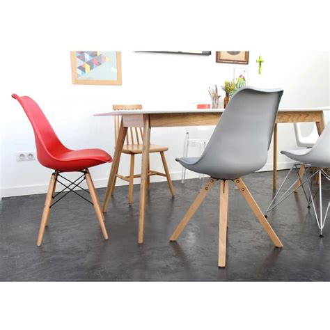 lot de 2 chaises design ormond wood par drawer fr