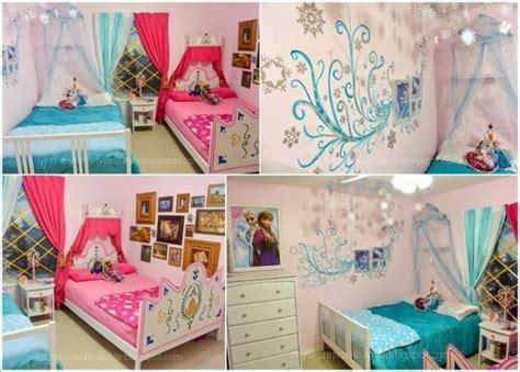 Frozen Themed Bedroom by Habitaciones Inspiradas En Frozen Todo Bonito