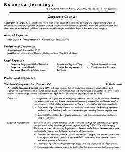 sample cover letter for resume general counsel position With cover letter for in house counsel position