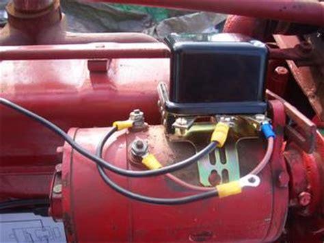 farmall  generator  regulator yesterdays tractors
