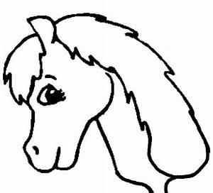 Free Printable Horse Head Stencils - ClipArt Best
