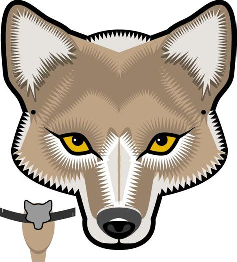 wolf mask template and the wolf wolf mask musical drama wolf mask wolf and masking