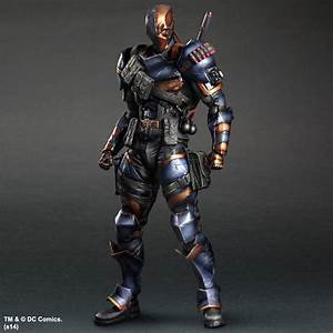 Buy Batman Arkham Origins: Deathstroke Play Arts Kai ...