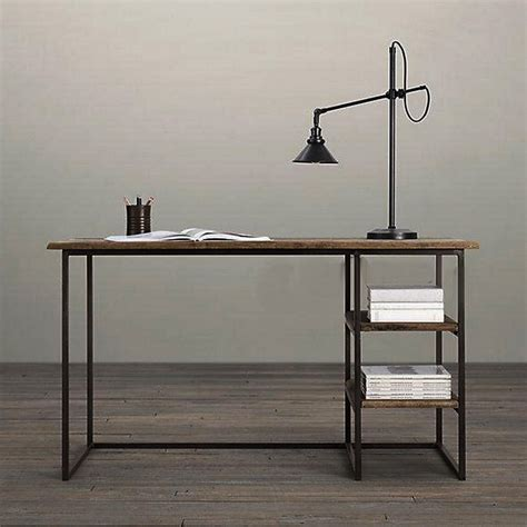 wrought iron computer desk american country wrought iron wood combination desk retro