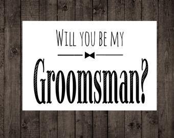 groomsman etsy