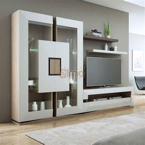 grey living room ideas ensemble meuble tv contemporain chêne de
