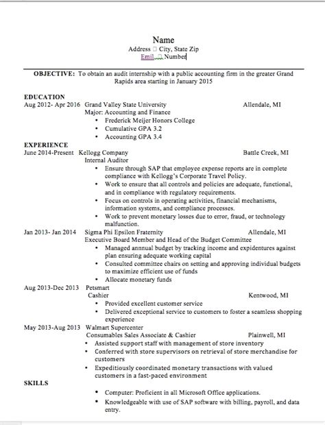 Things You Should Put On A Resume by Should I Include Gpa On Resume Best Resume Gallery