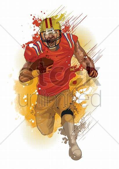 Player Football Vector Graphic Stockunlimited Ai