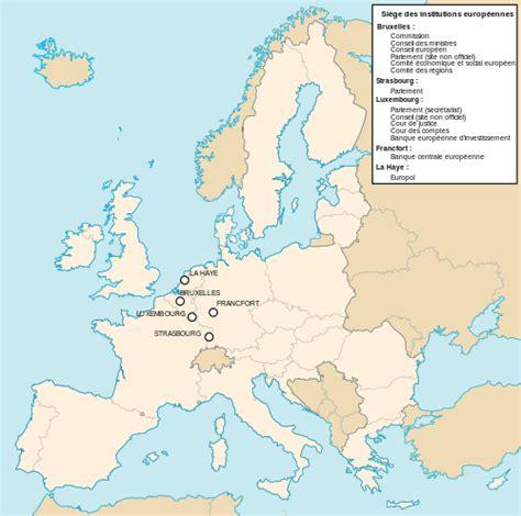 si 232 ges des institutions de l union europ 233 enne