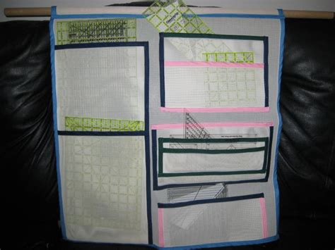 hanging quilt ruler holder
