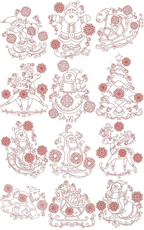 North Pole Collection | Machine Embroidery Designs By Sew
