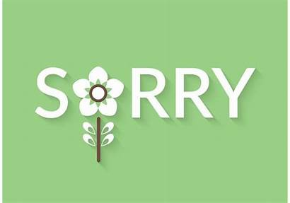 Sorry Vector Lettering Graphics Edit Clipart
