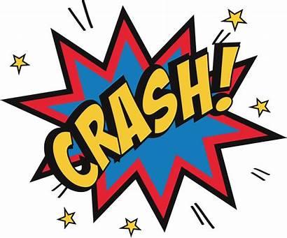 Comic Crash Clipart Pause Play Transparent Pinclipart