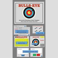 Bullseye Interactive Powerpoint Game Template  Teaching Tools  Powerpoint Games, Powerpoint