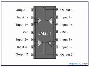 Lm324 Ic Pin Diagram  U0026 Description