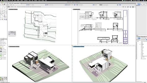 vectorworks  multiple drawing view support youtube