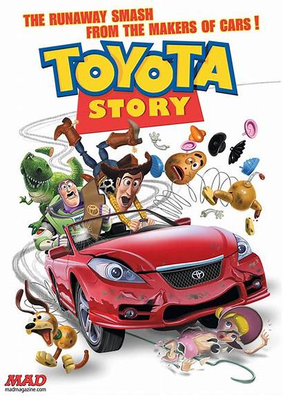 Mad Story Toyota Magazine Cars Toy Safety