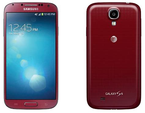 samsung galaxy s4 colors at t galaxy s4 color option revealed