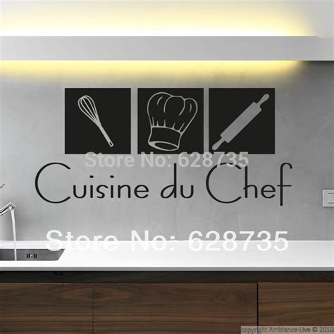 stickers deco cuisine free shipping modern wall stickers cuisine home