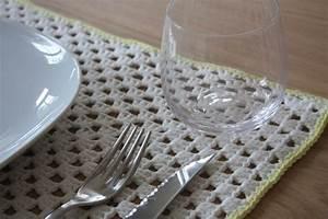 Set De Table Au Crochet : tuto du set de table rectangulaire crochet crochet crochet patterns et love crochet ~ Melissatoandfro.com Idées de Décoration