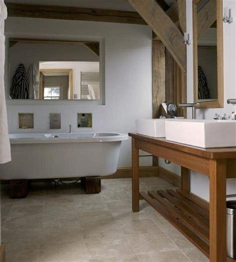 designer schrank waschtisch aus holz und andere rustikale badezimmer ideen