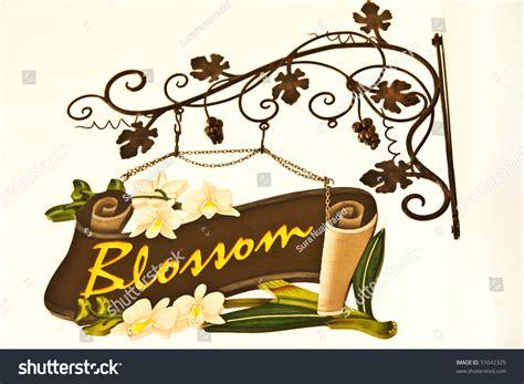 flower shop sign stock photo  shutterstock