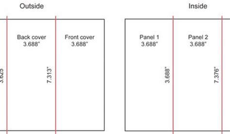 Brochure Templates Size Brochure Paper Size Tri Fold Brochure Size Renanlopes