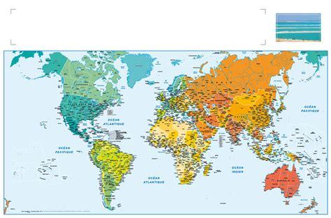 peinture chambre garcon tendance carte du monde 2017 my