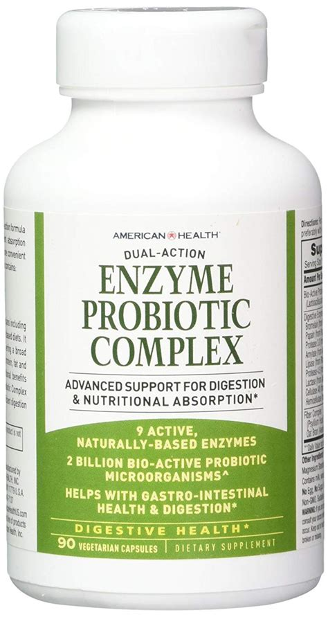 Enzyme Probiotic Complex Products 90 VCaps, American ...
