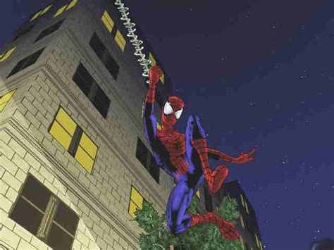 ultimate spider man screenshots  playstation