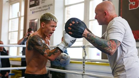 Edwards Promises Punch Perfect Performance - Matchroom Boxing