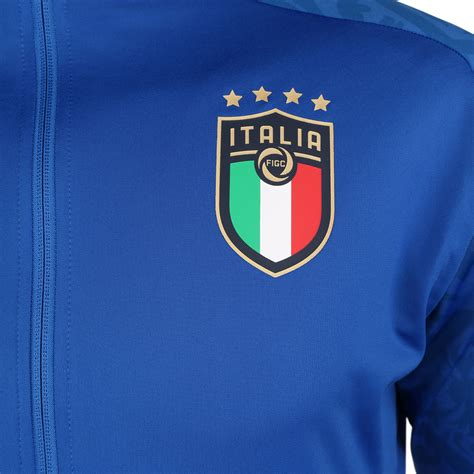 Content used is strictly for research. Puma Italien Heim Track Jacket EM 2021 Blau - Hier ...