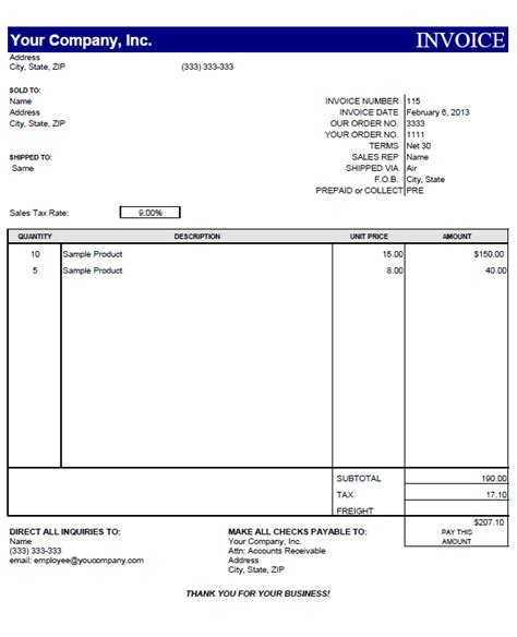 proforma invoice template    invoice
