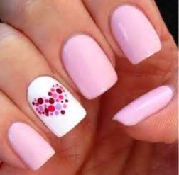 Gallery for gt simple pink nail design