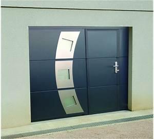 Porte De Garage Sectionnelle Avec Porte : sp cialiste des portails cl tures et porte de garage en ~ Edinachiropracticcenter.com Idées de Décoration